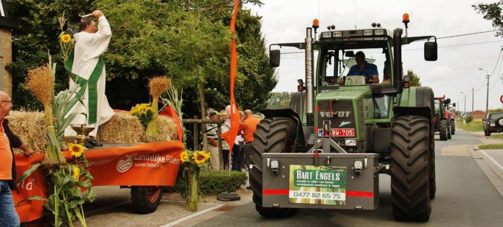 Tractorwijding Bentille – Sint-Jan – 100 jaar Landelijke Gilde